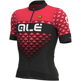 Alé Cycling PRS Hexa Maillot manches courtes Homme, black/gerbera